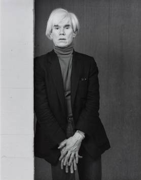 Andy Warhol 1983 by Robert Mapplethorpe 1946-1989