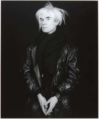 Andy Warhol 1986, printed 1990 by Robert Mapplethorpe 1946-1989