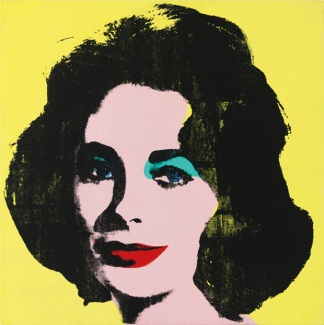 warhol-yellow-colored-liz