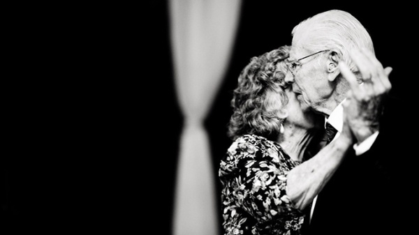 Love-is-patient-love-is-kind-old-couple-dancing-at-wedding-reception