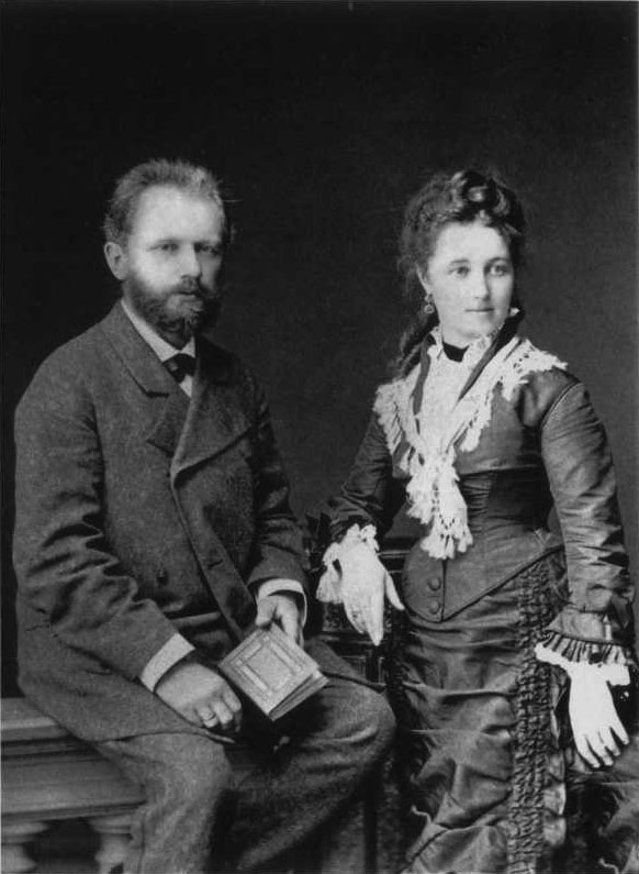 Tchaikovsky_and_his_wife