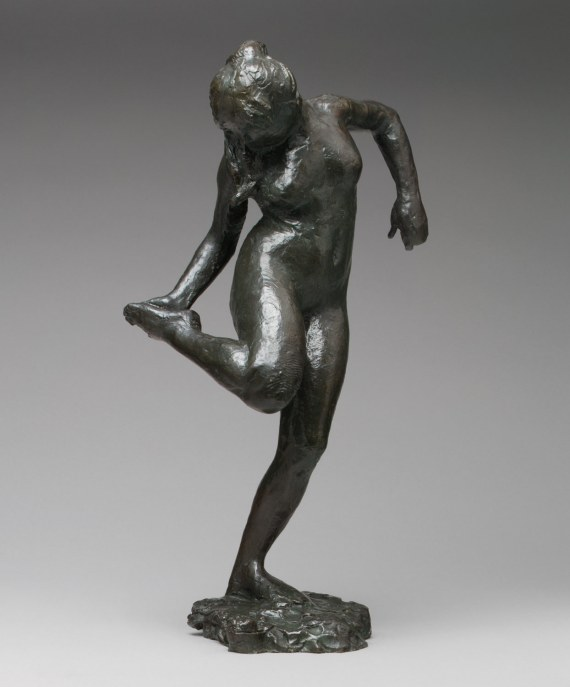 Dancer Looking at the Sole of Her Right Foot (Fourth State).jpg