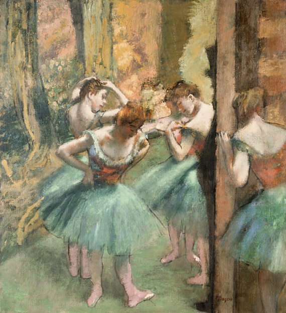 Dancers, Pink and Green.jpg