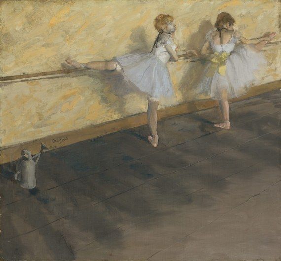 Dancers Practicing at the Barre.jpg