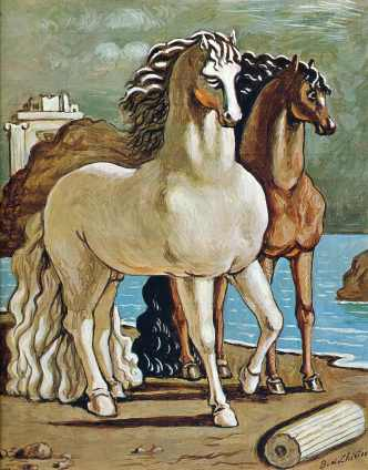 two-horses-by-a-lake