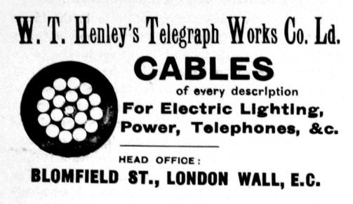 Ρεκλάμα της εταιρείας Henley's