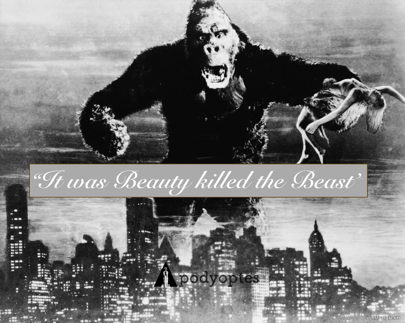Famous Movie Quotes: \u201cKing Kong\u201d 1933 \u2013 APODYOPTES