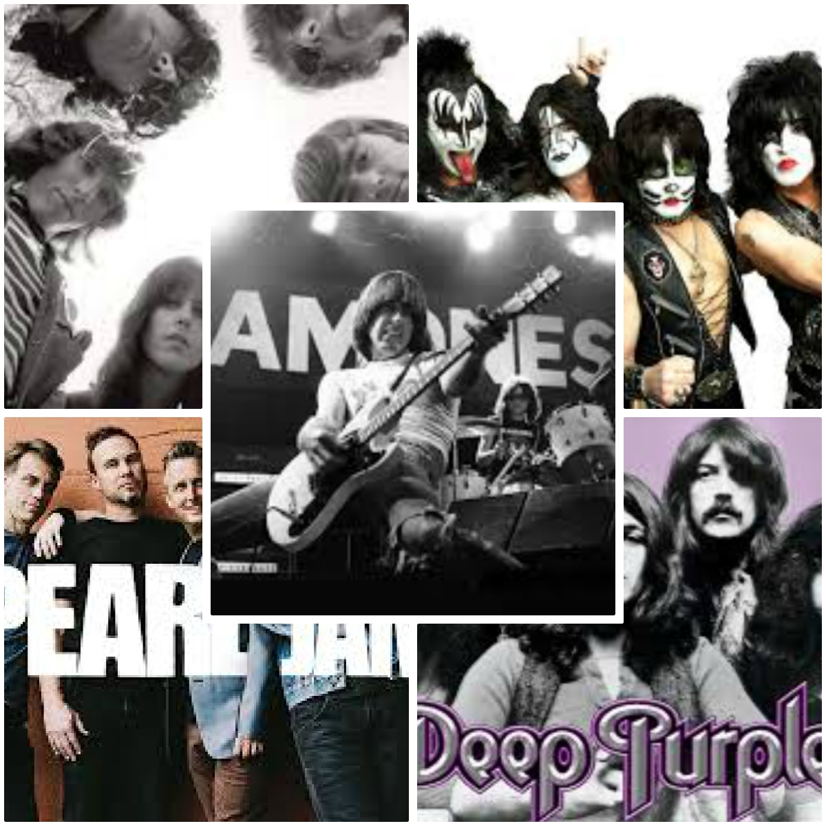 Πώς πήραν στ' αλήθεια το όνομά τους, οι Deep Purple, Kiss, The Ramones,Pearl Jam, Jefferson Airplane;