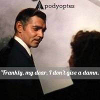 "Famous Movie Quotes: ""Gone with the wind"",1939"