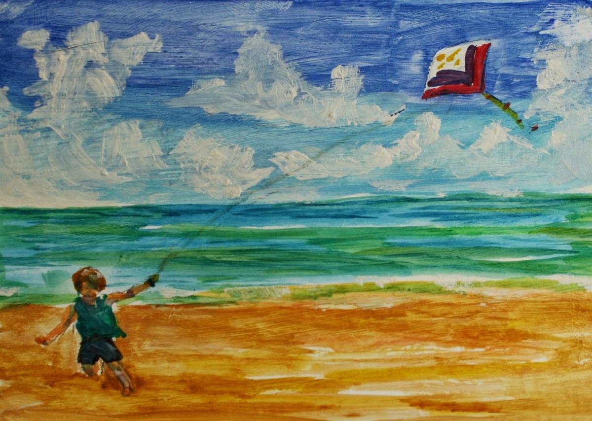 """Οδυσσέας Ελύτης: """"Nα γίνομαι άνεμος για τον χαρταετό και χαρταετός για τον άνεμo"""""""