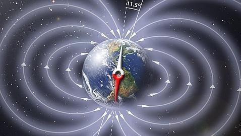 inversión de los polos magnéticos la visión real del mundo