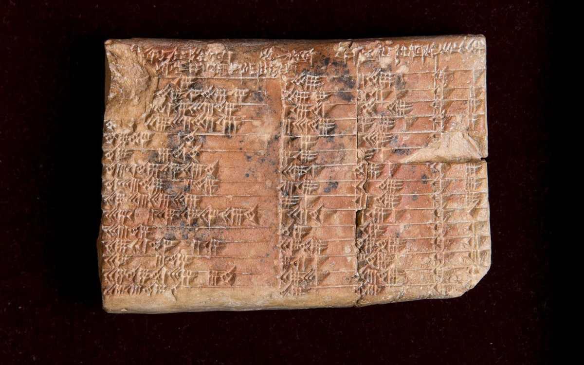 Plimpton 322: η πινακίδα 3.700 χρόνων που ξαναγράφει την ιστορία.