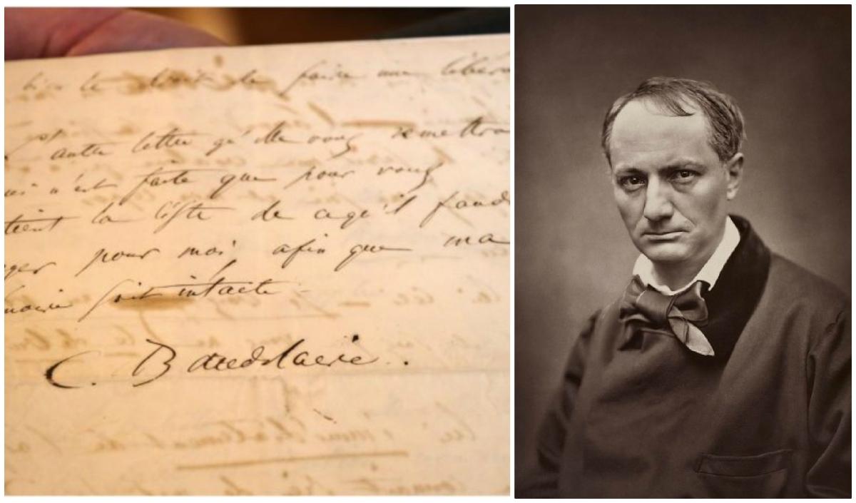 Charles Baudelaire : η άγνωστη επιστολή αυτοκτονίας που πωλήθηκε για 234.000 ευρώ